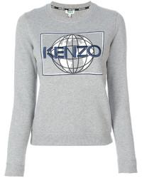 Kenzo Graphic Crew Neck Jumper