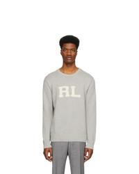 Polo Ralph Lauren Grey Rl Crewneck Sweater