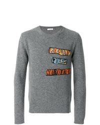 Valentino Jamie Reid Patch Appliqu Sweater