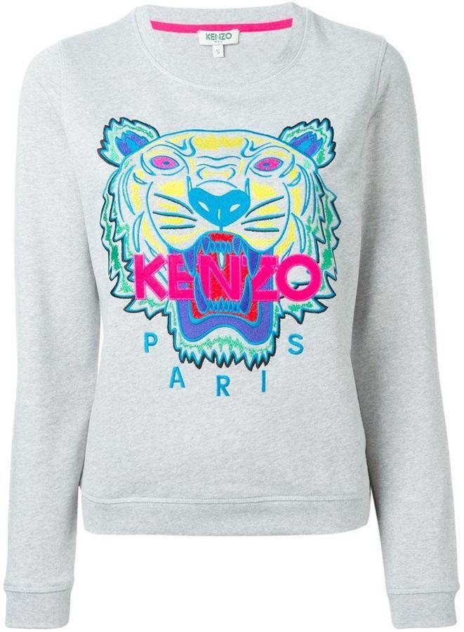 396e076fb Kenzo Tiger Sweatshirt, $270 | farfetch.com | Lookastic.com
