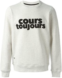 Lacoste Live Cours Toujours Printed Sweatshirt