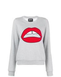 Markus Lupfer Leonie Velvet Lara Lip Sweater