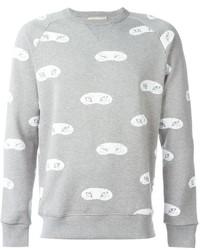 MAISON KITSUNÉ Maison Kitsun Fox Eye Print Sweatshirt