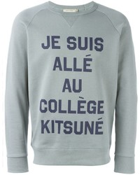 MAISON KITSUNÉ Maison Kitsun Print Sweatshirt