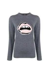 Markus Lupfer Mia Lips Intarsia Sweater