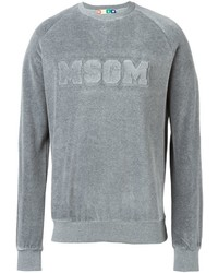 MSGM Embossed Logo Sweatshirt