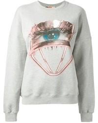 MSGM Eye Print Sweatshirt