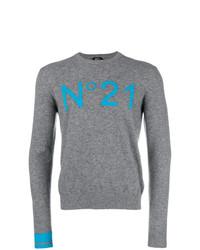 N°21 N21 Intarsia Logo Sweater