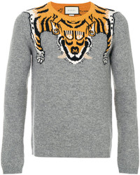 Gucci Tiger Intarsia Jumper