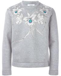 Valentino Floral Print Sweatshirt