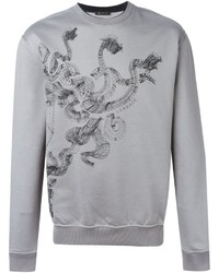 Versace Abstract Print Sweatshirt
