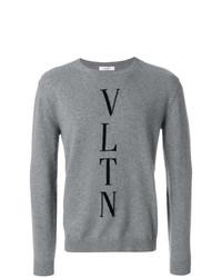 Valentino Vltn Intarsia Sweater