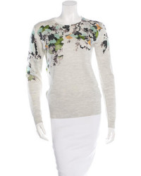 3.1 Phillip Lim Wool Floral Sweater