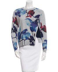Yigal Azrouel Yigal Azroul Orchid Printed Sweater