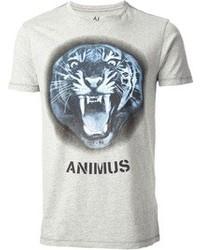 Armani Jeans Tiger Print T Shirt