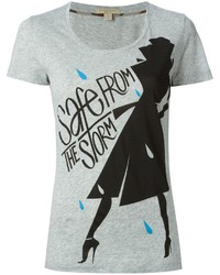 Burberry Brit Safe From The Storm Print T Shirt