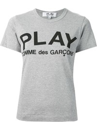 Comme des Garcons Comme Des Garons Play Printed Logo T Shirt