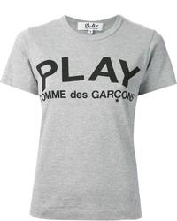 Comme des garcons comme des garons play printed logo t shirt medium 237072
