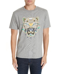 Kenzo Dragon Tiger Graphic T Shirt