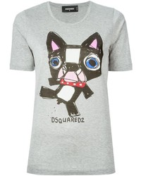 Dsquared2 Dog Print T Shirt