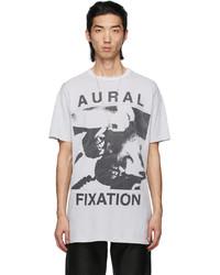 Enfants Riches Deprimes Grey Aural Fixation T Shirt
