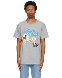 Gucci Grey Disney Edition Donald Duck Flash T Shirt