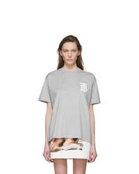 Burberry Grey Emerson T Shirt