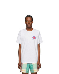 Noah NYC Grey Flounder Shop T Shirt