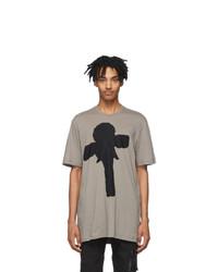 Julius Grey Graphic T Shirt