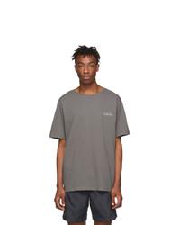 C2h4 Grey Instruction Print T Shirt