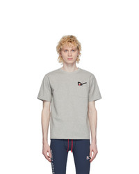 District Vision Grey Intoku Slow T Shirt