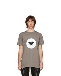 Rick Owens Grey Level T Shirt