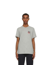Moncler Grey Logo T Shirt