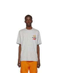 Burberry Grey Monogram Oversized Gately T Shirt