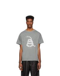 Satisfy Grey Moth Eaten Usa Tour T Shirt