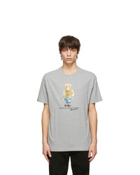Polo Ralph Lauren Grey Polo Bear T Shirt