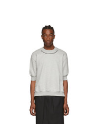 Random Identities Grey Short Sleeve Sweatshirt