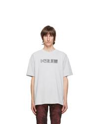 Ksubi Grey Sign Of The Times T Shirt