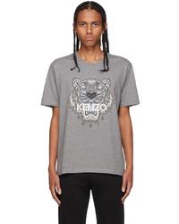 Kenzo Grey Tiger Classic T Shirt