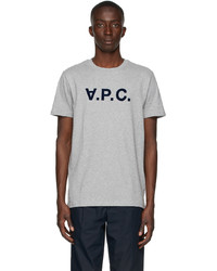 A.P.C. Grey Vpc T Shirt