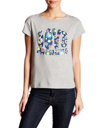 Love Moschino Groovy Print Graphic Tee