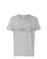Saint Laurent Logo Patch T Shirt