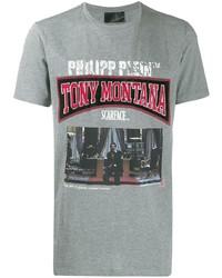 Philipp Plein Logo T Shirt