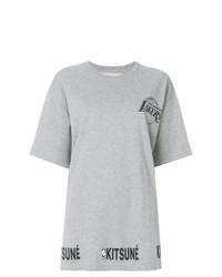 MAISON KITSUNE Maison Kitsun Lakers Print T Shirt