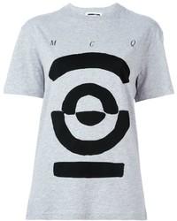 McQ by Alexander McQueen Mcq Alexander Mcqueen Tribal Markings Print T Shirt