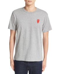 Comme des Garcons Play Stretch Face Heart T Shirt