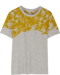 Jason Wu Printed Cotton And Modal Blend T Shirt