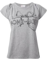RED Valentino Bone Boy T Shirt
