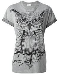 RED Valentino Owl Print T Shirt