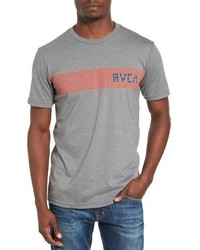Rippled stripe graphic t shirt medium 1195348
